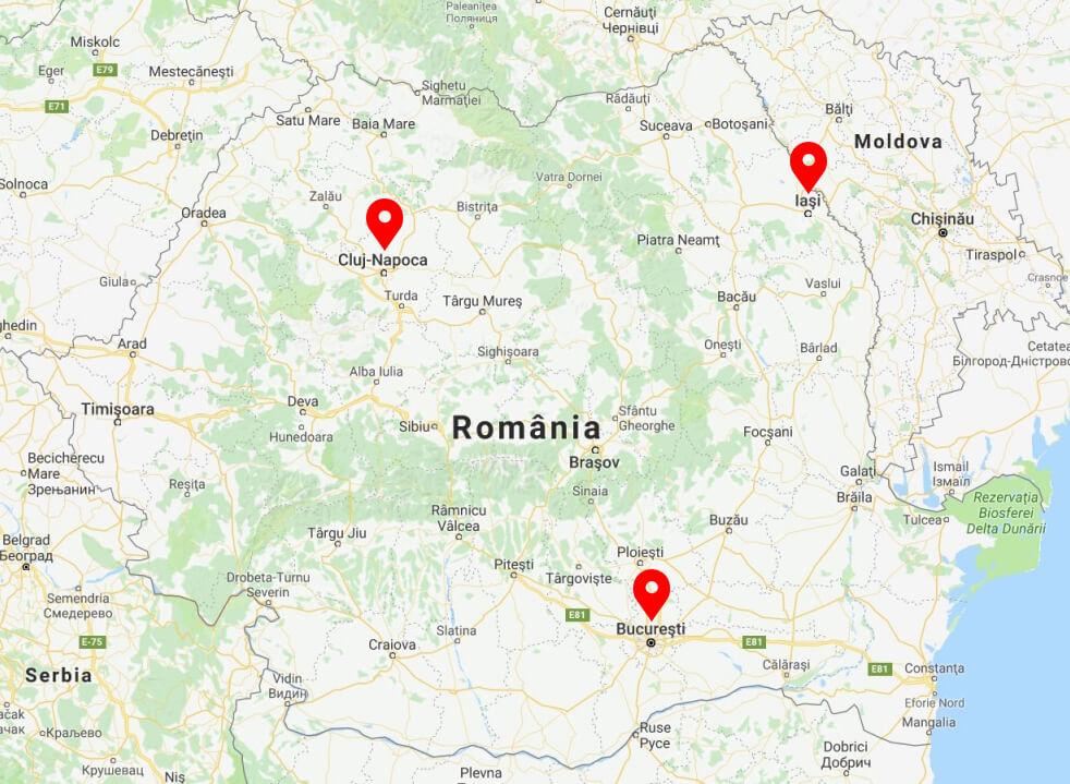 Harta Locatii