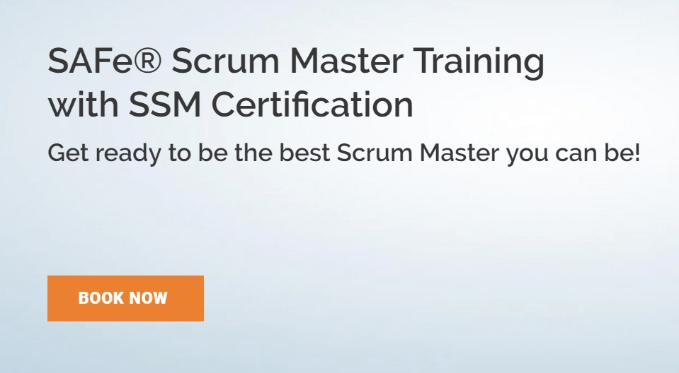 Safe Scrum Master Training With Ssm Certification Smart